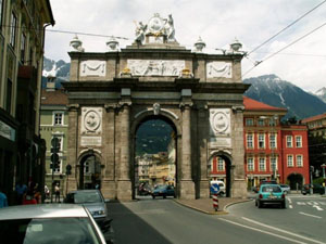 Innsbruck - city gate [800x600]